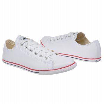 Athletics Converse Men's All Star Slim Ox White Shoes.com .