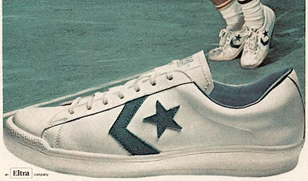 """Converse tennis shoes """"Every Roscoe Tanner serves, he serves in ."""