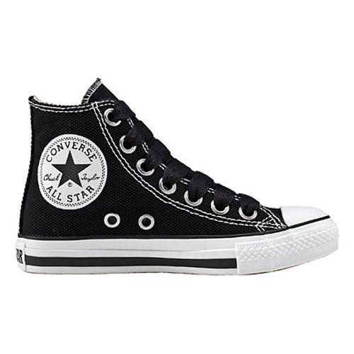 Converse Black Canvas   Converse shoes for girls, Converse .