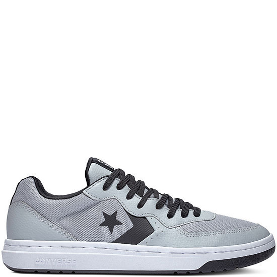 Converse Rival Ox Mens Sneakers, Color: Wolf Grey Black - JCPenn
