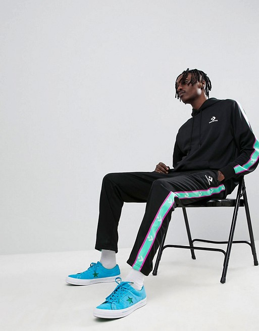 Converse Tracksuit with Taping in Black | AS