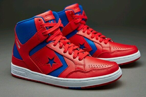 NEW CONVERSE WEAPON RED/BLUE/WHITE 144546C MEN'S SIZE 10 .