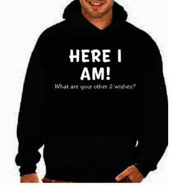 Here im funny cool hoodies Funniest Humorous designs graphic | Et