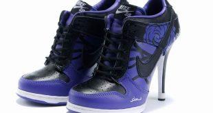 Cool Girl Nike Shoes | Cool Nike Dunk Purple Black Women Shoes .