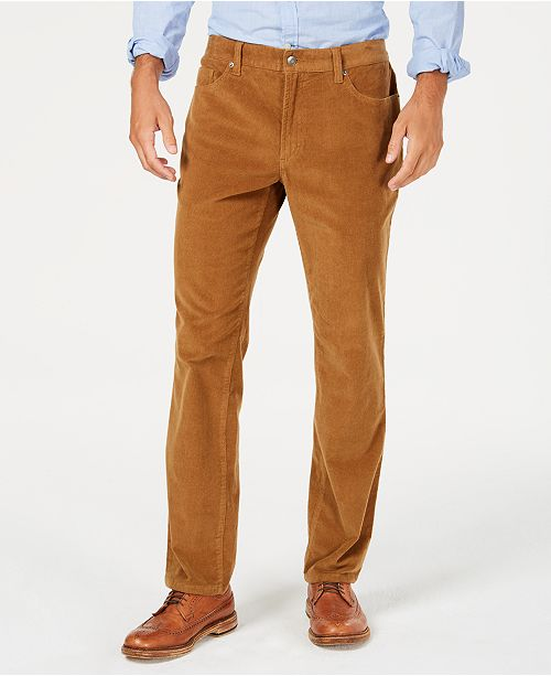 Club Room Men's Stretch Corduroy Pants, Created for Macy's .