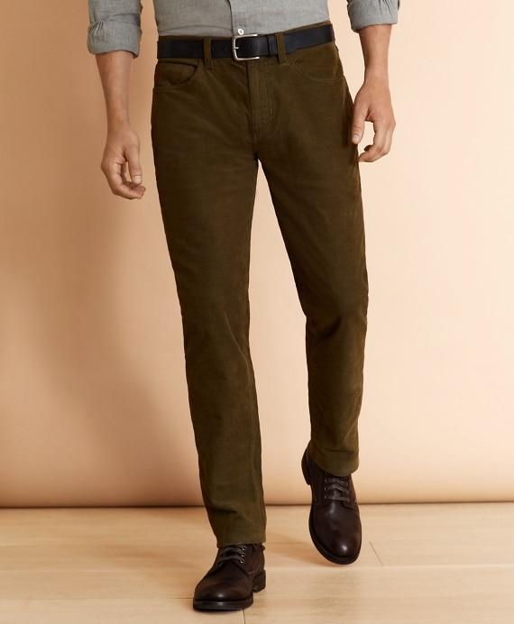 Five-Pocket Corduroy Pants - Brooks Brothe