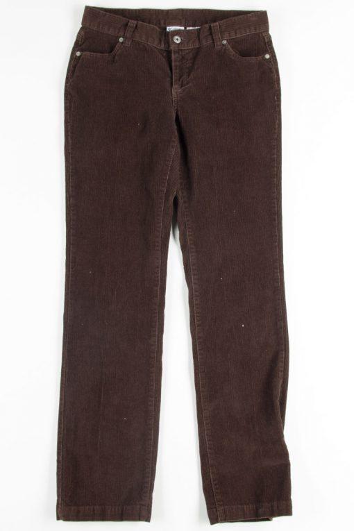 Brown Columbia Corduroy Pants - Ragsto