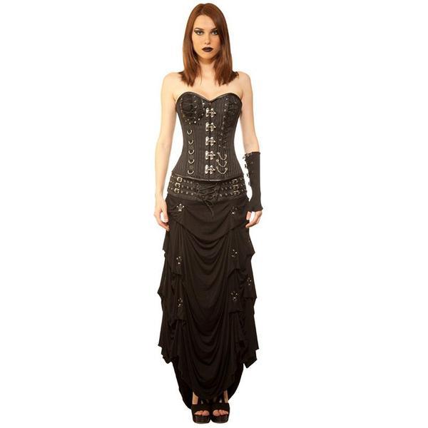 Gothic Crush Corset Dress – Violet Vix