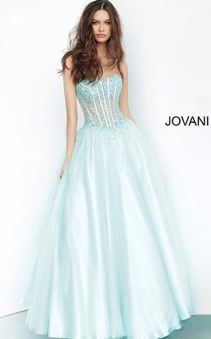 Jovani 1332 sweetheart neckline a line prom dress – Glass Slipper .