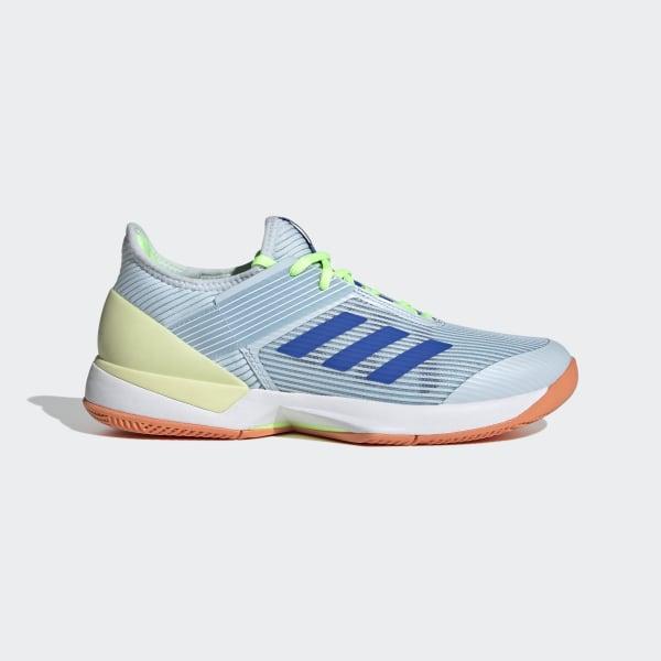 adidas Ubersonic 3 Hard Court Shoes - Blue | adidas
