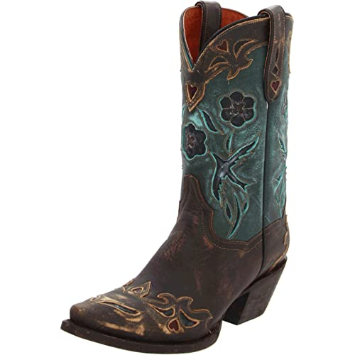 Teal Cowgirl Boots: Amazon.c