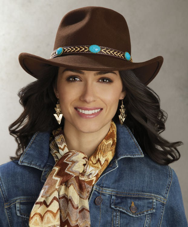 LeatherCoatsEtc Wool Felt Cowgirl H