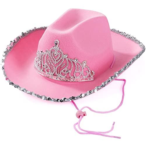 Pink Cowboy Hat: Amazon.c