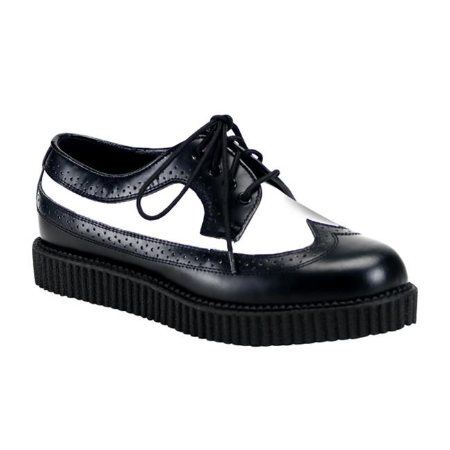 Demonia CREEPER-608 Mens Wingtip Creeper Shoes - Demonia Sho