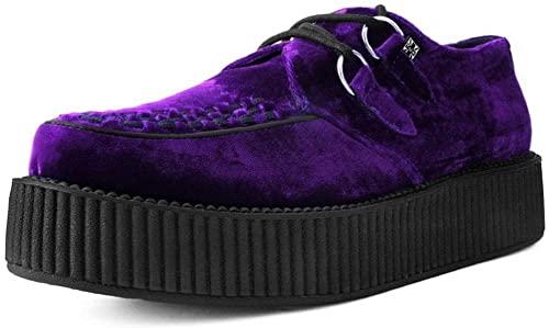 Amazon.com | T.U.K. Shoes V9490 Unisex-Adult Creepers, Violet .