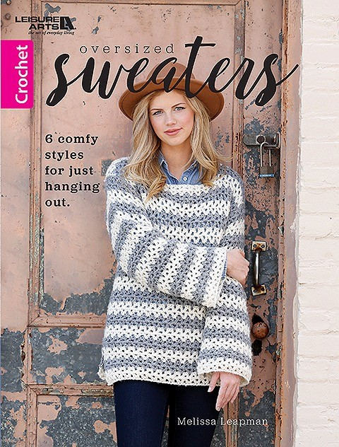 6 Crochet Patterns for Oversized Sweaters • Oombawka Design Croch