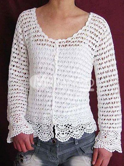 womens crochet sweater patterns | Crochet Pattern Central - Free .