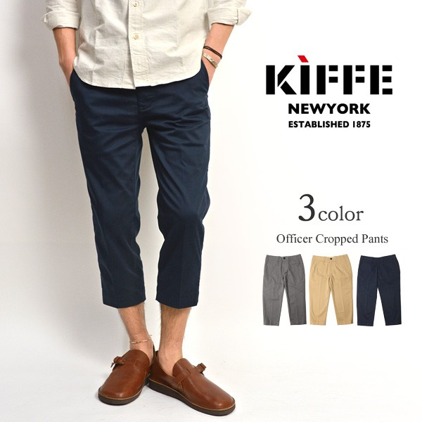 ROCOCO attractive clothing: KIFFE (キッフェ) officer cropped pants .