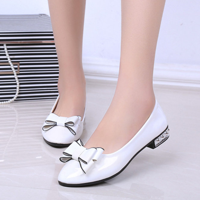 Nice New Autumn Bowtie Flats Women Leisure Super Cute Shoes Woman .