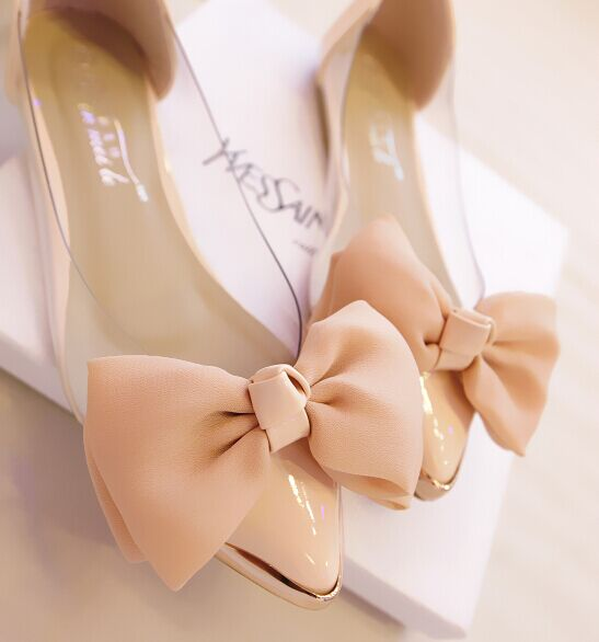 Pink women shoes flats sweet cute flats for women japanned leather .
