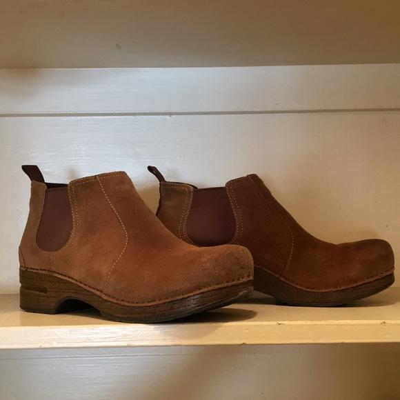 Dansko Shoes   Frankie Boots Size 42fit Like 41 Suede   Poshma