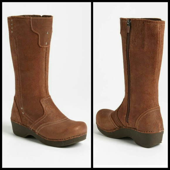Dansko Shoes   New Tall Crepe Boots Eu 37 Us 7   Poshma