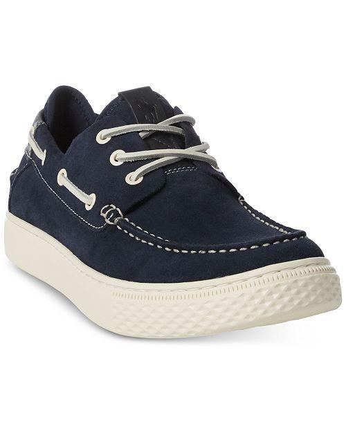 Polo Ralph Lauren Men's Boat Deck Shoes & Reviews - All Men's .