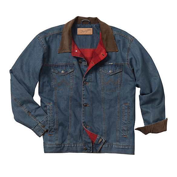 Boy's Wrangler® Blanket Lined Denim Jacket | Boys Jackets and .