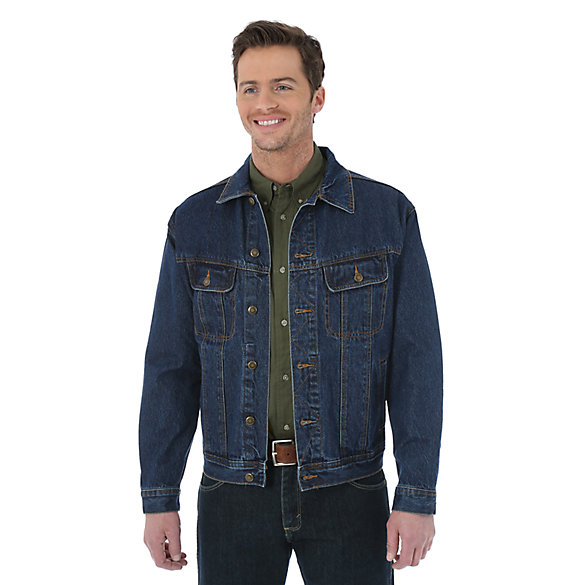Wrangler Rugged Wear® Denim Jacket | Mens Jackets and Outerwear by .