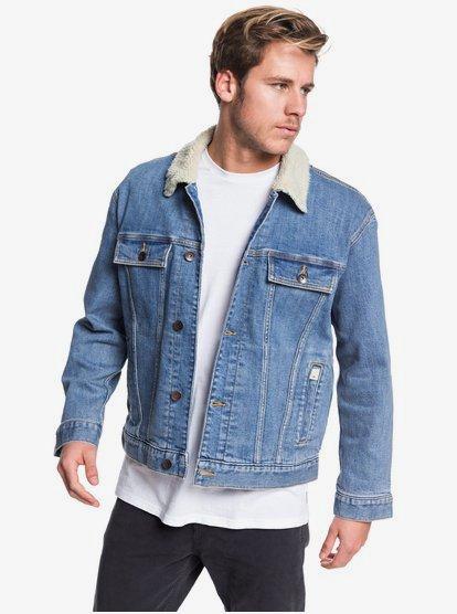 Quiksilver Denim Jacket EQYJK03509 | Quiksilv