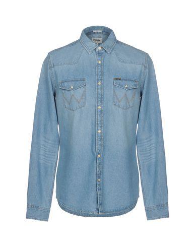 Wrangler Denim Shirt - Men Wrangler Denim Shirts online on YOOX .
