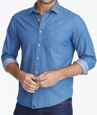 Chambray Shirts & Denim Shirts for Men | UNTUCK