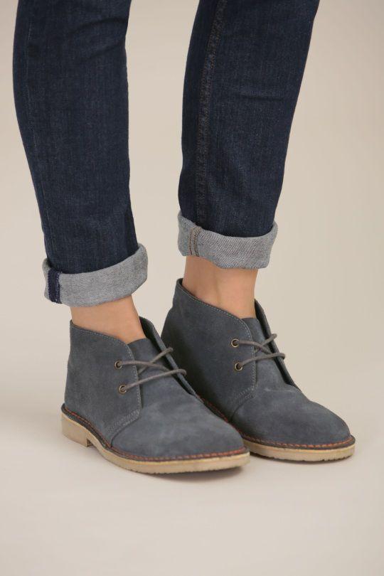 Desert Boot   Hipster shoes, Desert boots women, Stylish fall boo