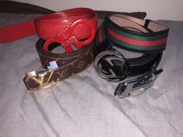 Real used designer belts for Sale in Tucson, AZ - Offer