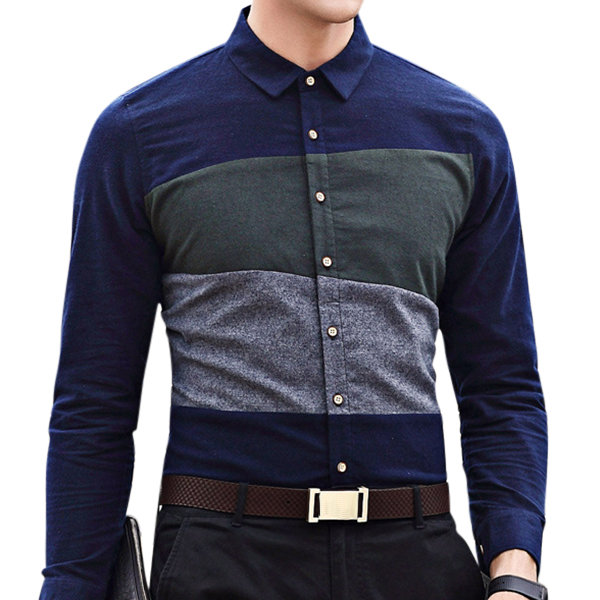 Designer Stylish Casual Stitching Cotton Long Sleeve Designer .
