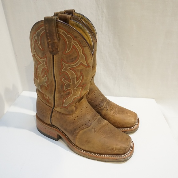 Double H Shoes | Boots Mens Square Toe Western Ropers | Poshma