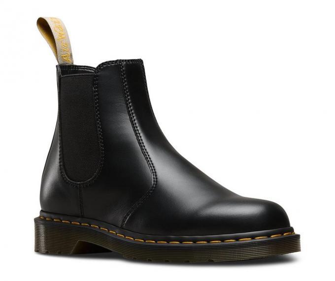 Dr. Martens Womens/Mens Ankle Boots | VEGAN 2976 BLACK FELIX RUB .