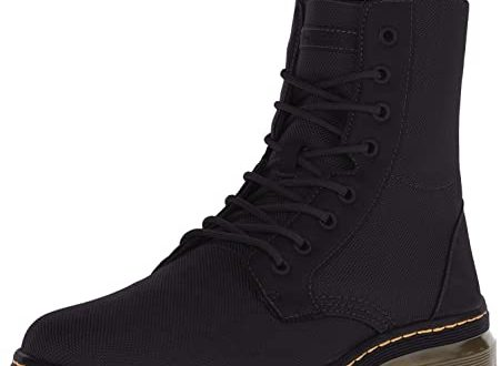 Amazon.com | Dr. Martens Men's Combs Washed Canvas Combat Boot .