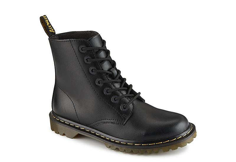 Black Dr. Martens Luana Women's Combat Boots | Rack Room Sho