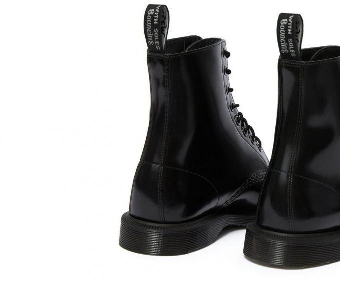 Dr. Martens Womens Boots | ELSHAM BLACK POLISHED SMOOTH ~ SEO .