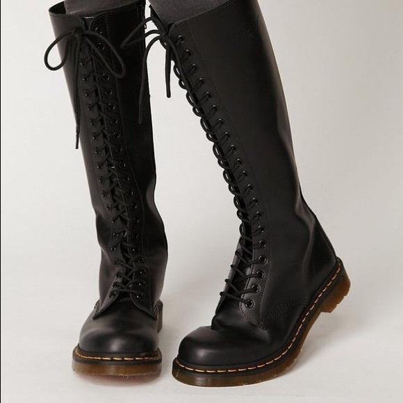 Dr. Martens Shoes | Knee High Dr Marten Boots | Poshma