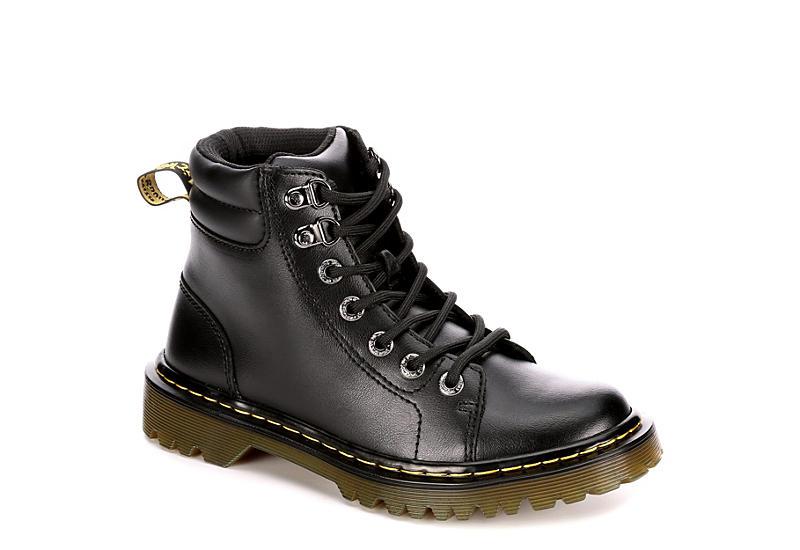 Black Dr. Martens Faora Women's Combat Boots | Rack Room Sho