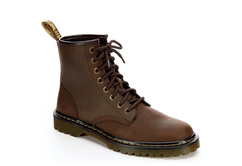 Brown Dr.martens Mens Awley | Boots | Rack Room Sho