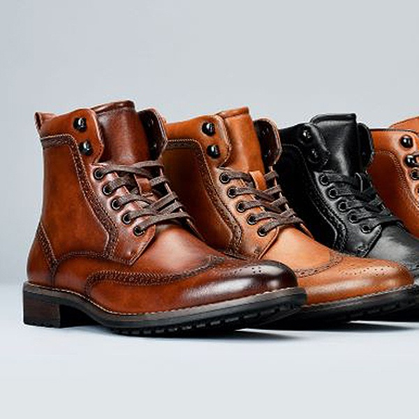 Up To 65% Off on Men's Combat Dress Boots | Groupon Goo