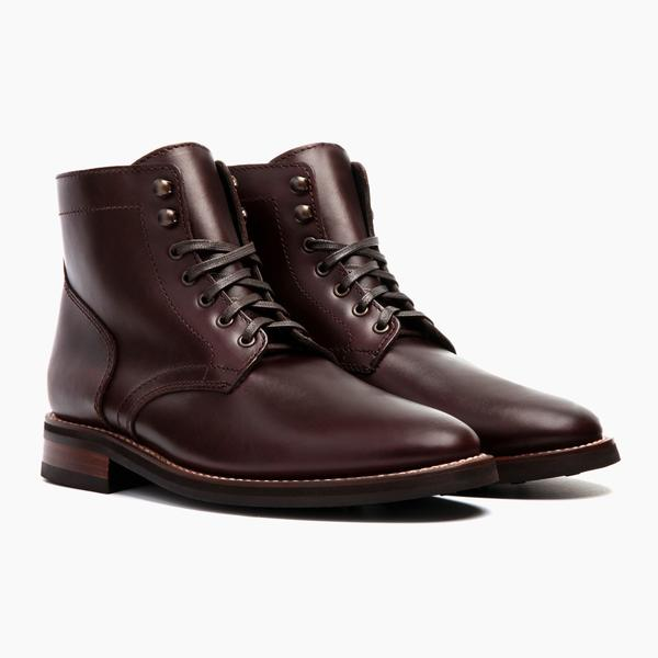 Men's Brown President Lace-Up Boot - Thursday Boot Compa