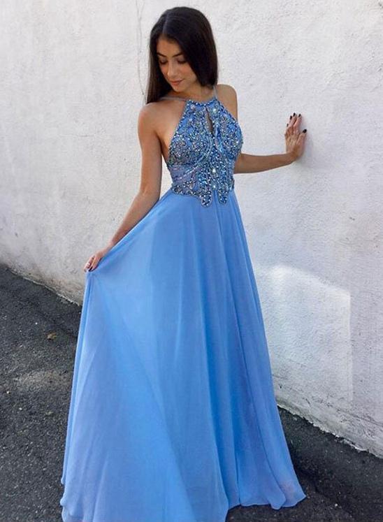 Light Blue Prom Dress, Back To School Dresses, Prom Dresses For .