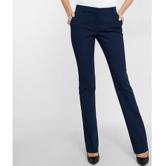 Calvin Klein Pants | Navy Blue Womens Dress | Poshma