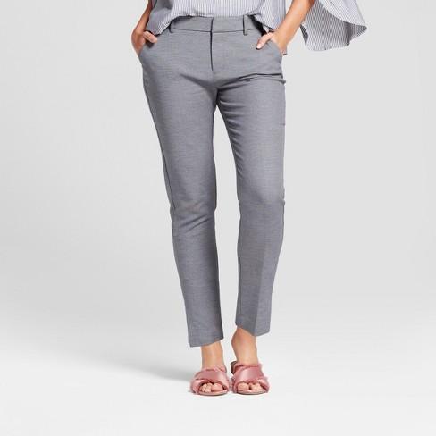Women's Straight Leg Slim Ankle Pants - A New Day™ : Targ