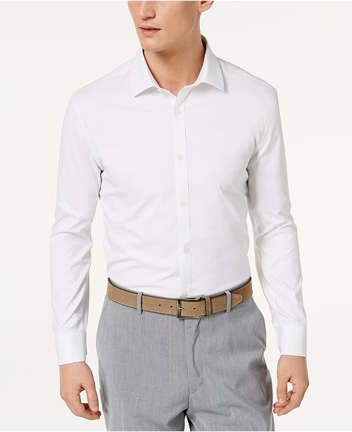 Ryan Seacrest Distinction Men's Ultimate Active Slim-Fit Non-Iron .