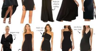 10+ Impressive Black Dresses For Weddings Photos - Wedding Dress .